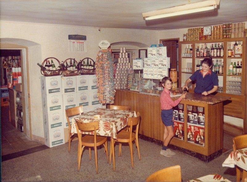 L'osteria negli anni '70