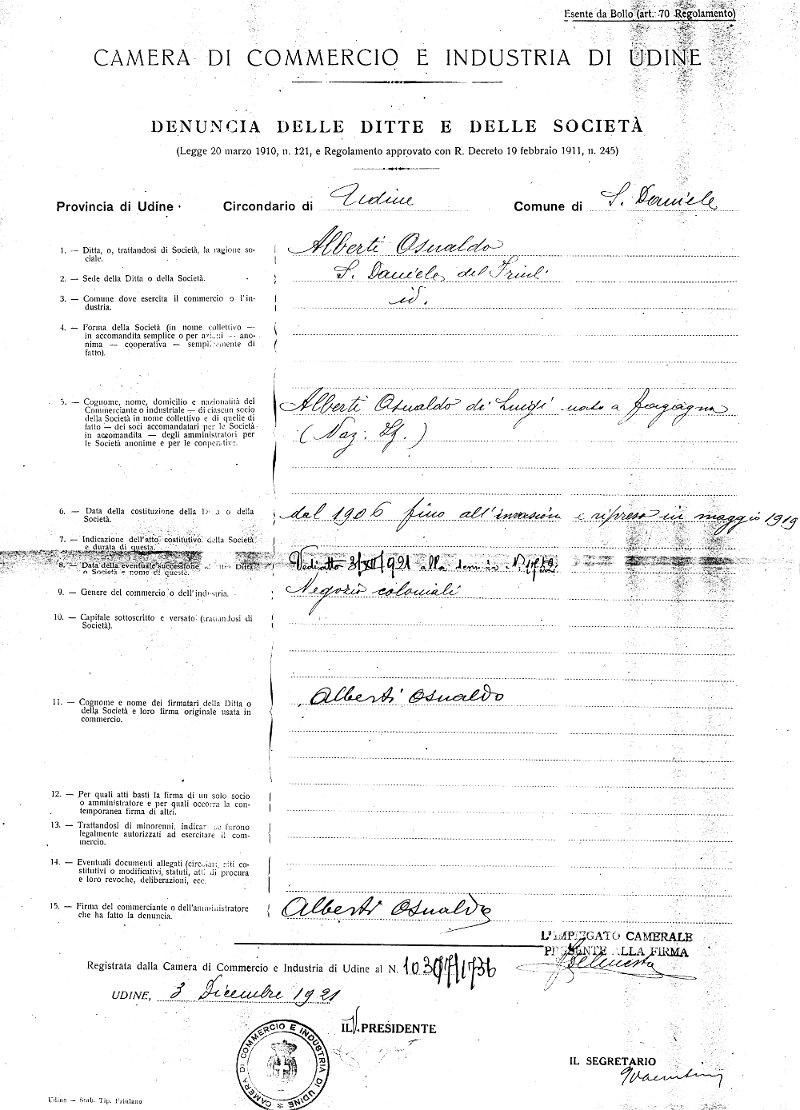 Alberti 1906 la casa del prosciutto for Visura e lavori meglio